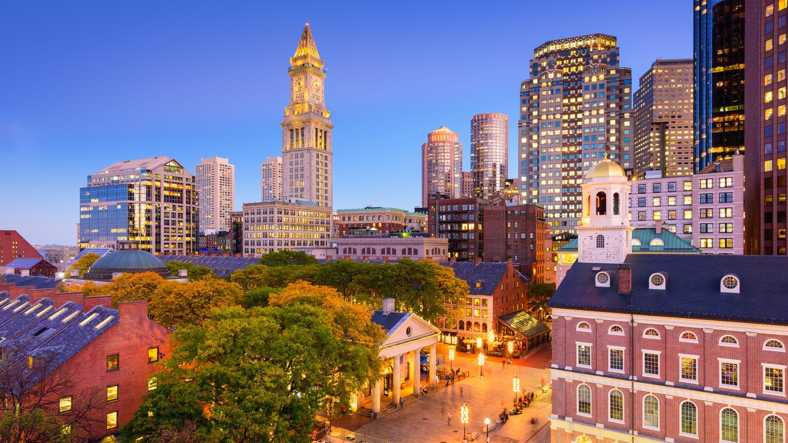 Downtown of Boston, MA