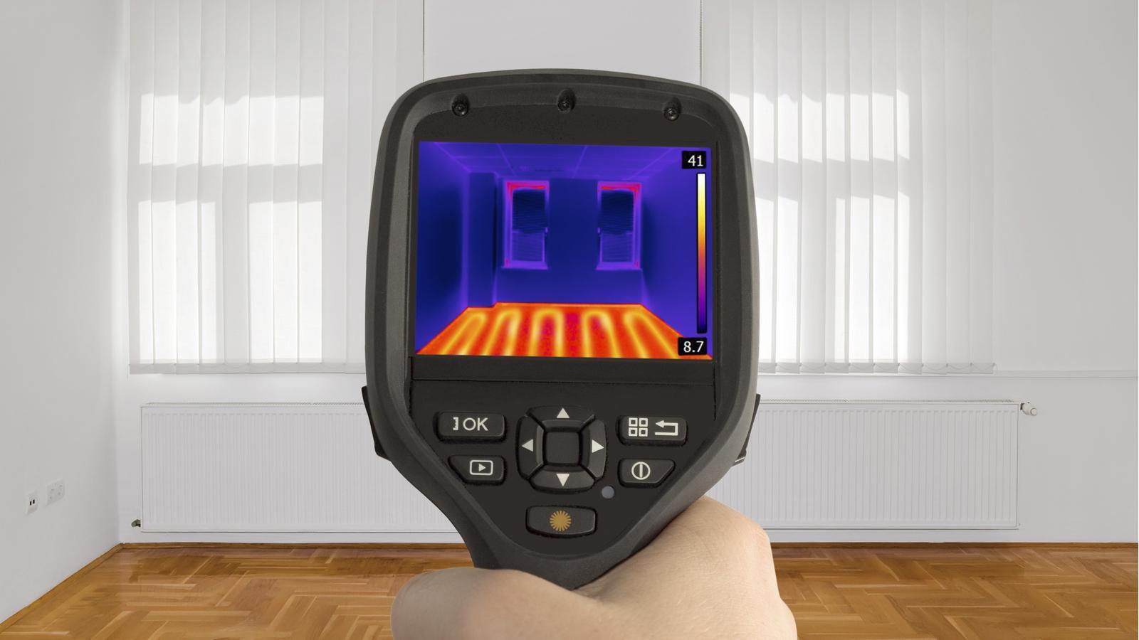 Infrared Camera in Home